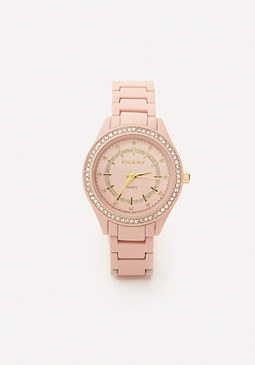bebe Coated Metal Watch