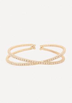 Crystal Crisscross Bracelet