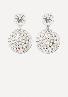Front-Back Pave Earrings