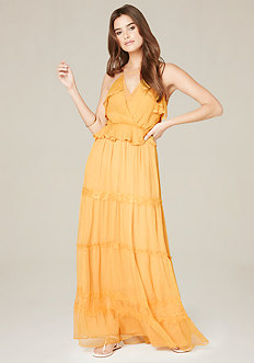Ruffle Tiered Maxi Dress