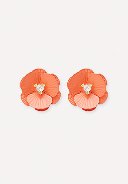 bebe Oversize Flower Earrings