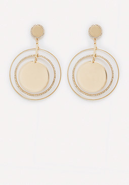 bebe Ring Drop Earrings