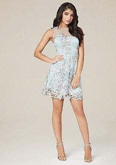 April Fit & Flare Dress