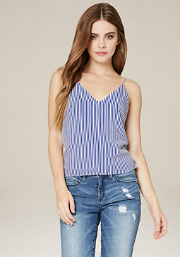 bebe Crossback Cami Top