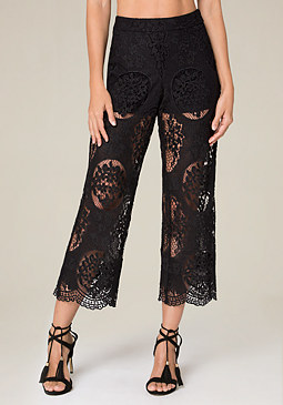 bebe Nick Crop Pants