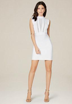 Little White Dresses &amp White Dresses  bebe