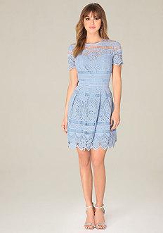 Gibson Crochet Dress