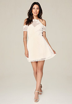 Kylie Lace Flared Dress