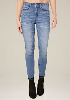 Clean Wash Hourglass Jeans