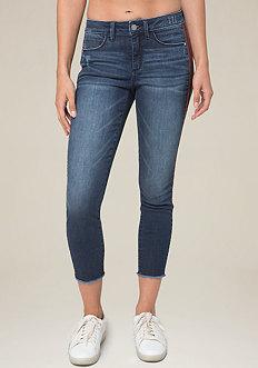 Striped Heartbreaker Jeans