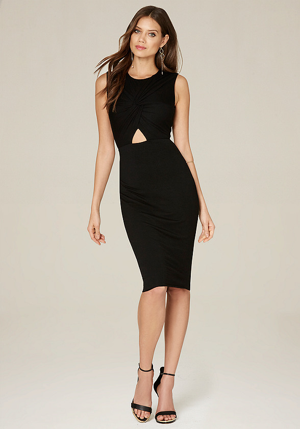 short black bodycon dresses
