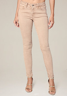 Clean Color Skinny Jeans