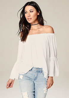 Layered Off Shoulder Top