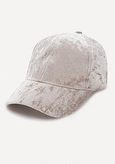 Crushed Velvet Cap