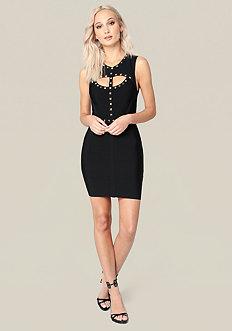 Leah Studded Dress