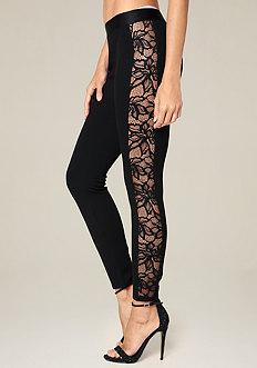 Lace Tux Leggings