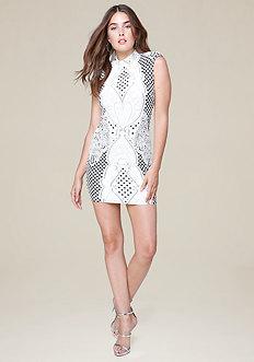 Alex Jacquard Dress