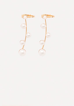 bebe Faux Pearl Ear Crawlers