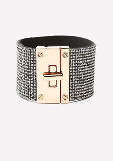 Glitzy Turnlock Bracelet