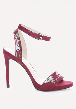 bebe Ingram Embroidered Sandals