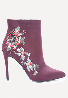 Delonix Embroidered Booties