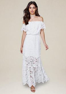 Britt Lace Maxi Dress