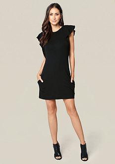 Luxe Back Crisscross Dress