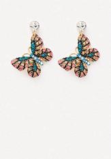 bebe Butterfly Earrings