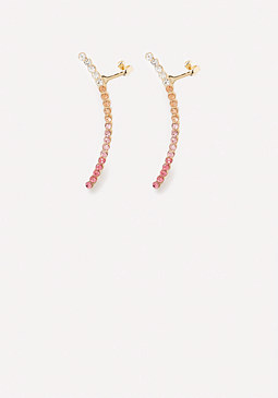 bebe Ombre Crystal Ear Crawlers