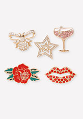 bebe Martini Pin Set