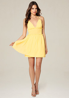 Double Strap Day Dress
