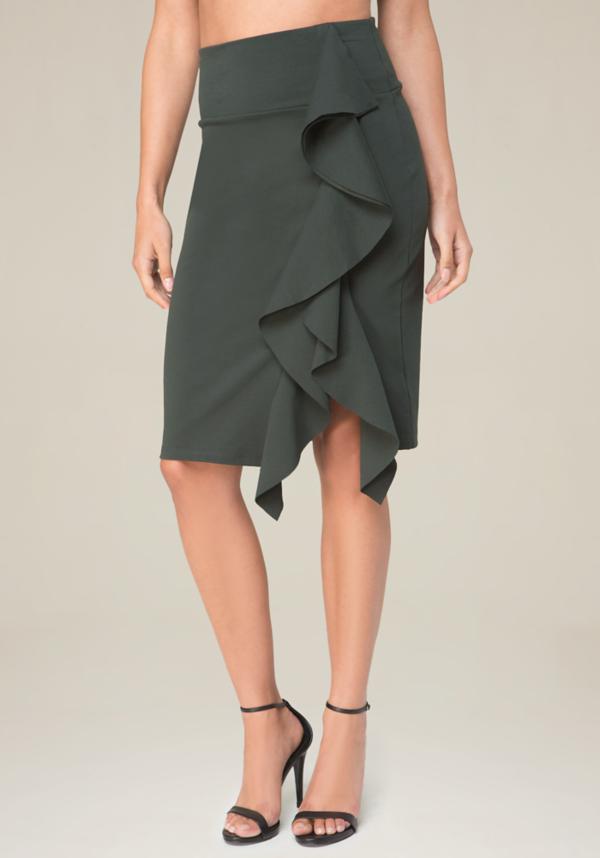 Ruffled Skirt at bebe in Sherman Oaks, CA | Tuggl