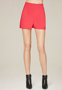bebe Back Zip Shorts
