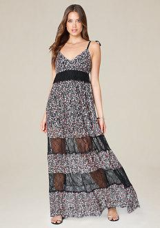 Tania Print Maxi Dress