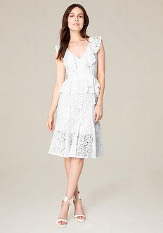 Jo Jo Ruffled Lace Dress