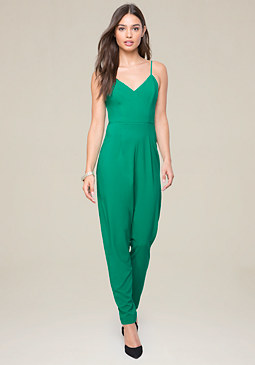 bebe Strappy Jumpsuit