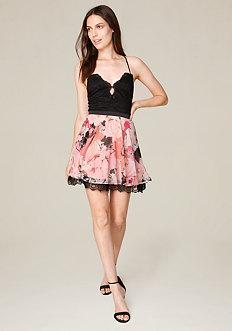 Kaylee Lace Skater Dress