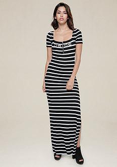 Striped Judith Maxi Dress