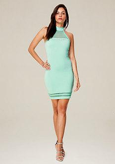 Logo Clarice Mini Dress