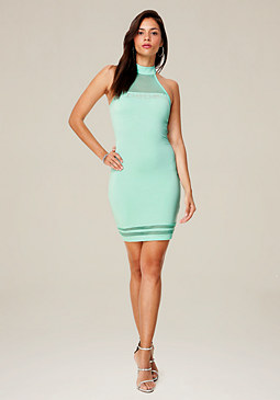 bebe Logo Clarice Mini Dress