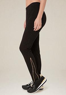 Donna Side Zip Jogger Pants
