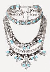 bebe Choker & Statement Necklace