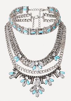 Choker & Statement Necklace
