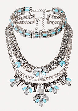 bebe Choker & Statement Necklace