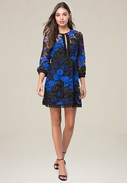bebe Jessie Lace Dress