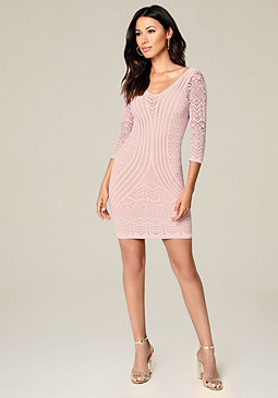 bebe Reese Bodycon Dress