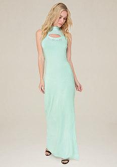 Shirley Mesh Maxi Dress