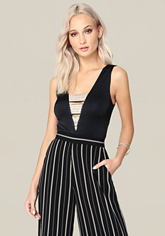 Jewel Banded Top