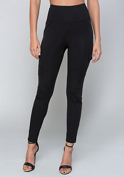 bebe Slick Cargo Leggings