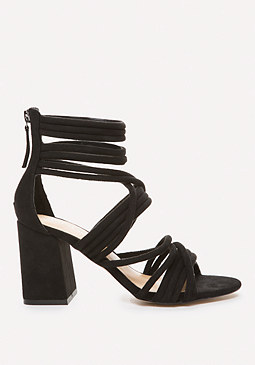 bebe Noor Block Heel Sandals